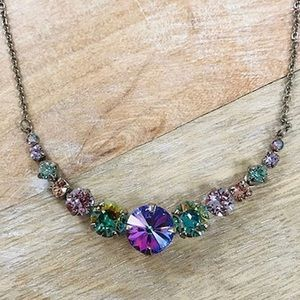 Sorrelli Crystal Rounds Necklace,NWT